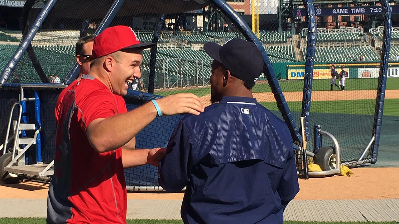 In first meeting, Aybar reflects on time with Angels