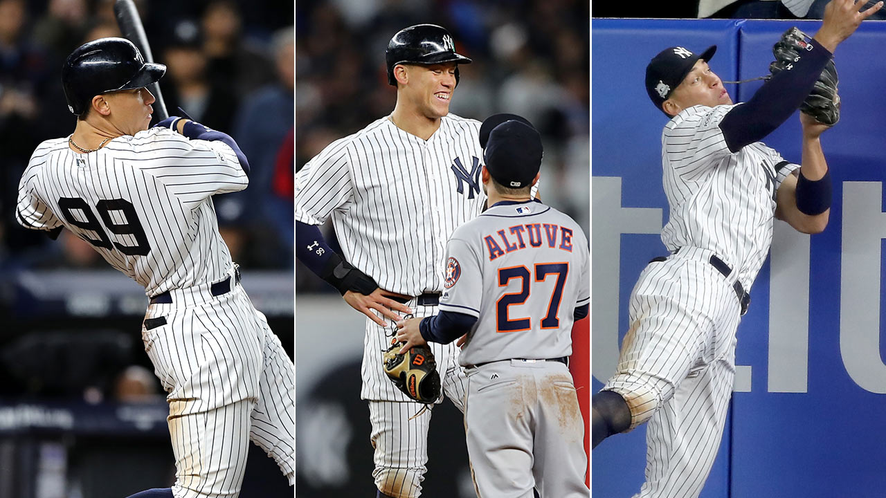 Aaron Judge leads Yankees to Game 3 ALCS win