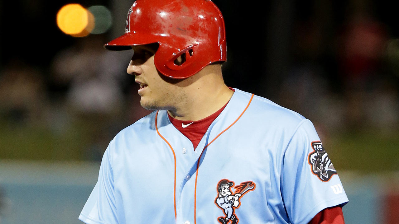 Trout Doubles In Third Rehab Game
