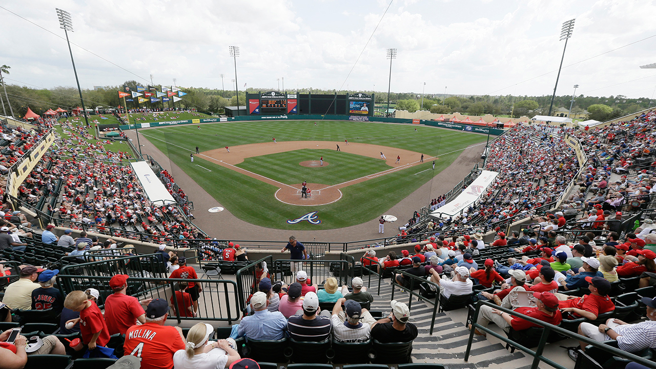 Braves release Spring Training schedule