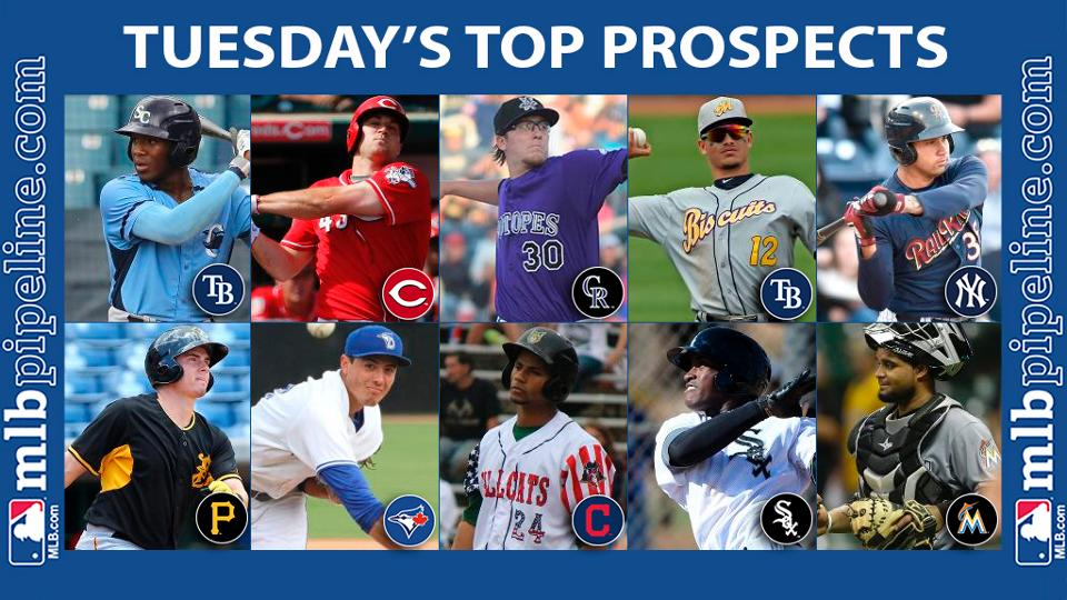 Williams, Schebler among top prospect performers Tuesday