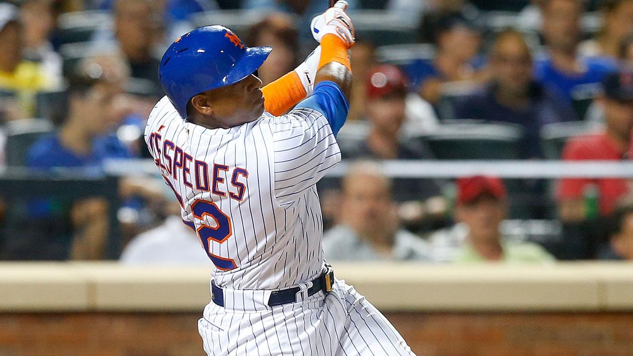 Mets cautious with Cespedes' sore right quad