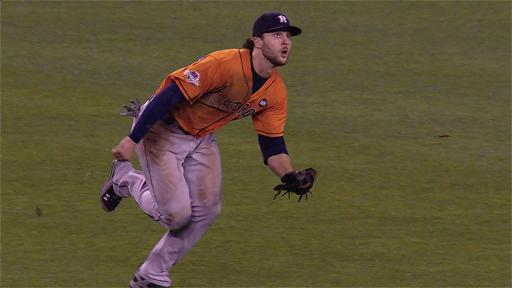 Jake Marisnick makes diving catch
