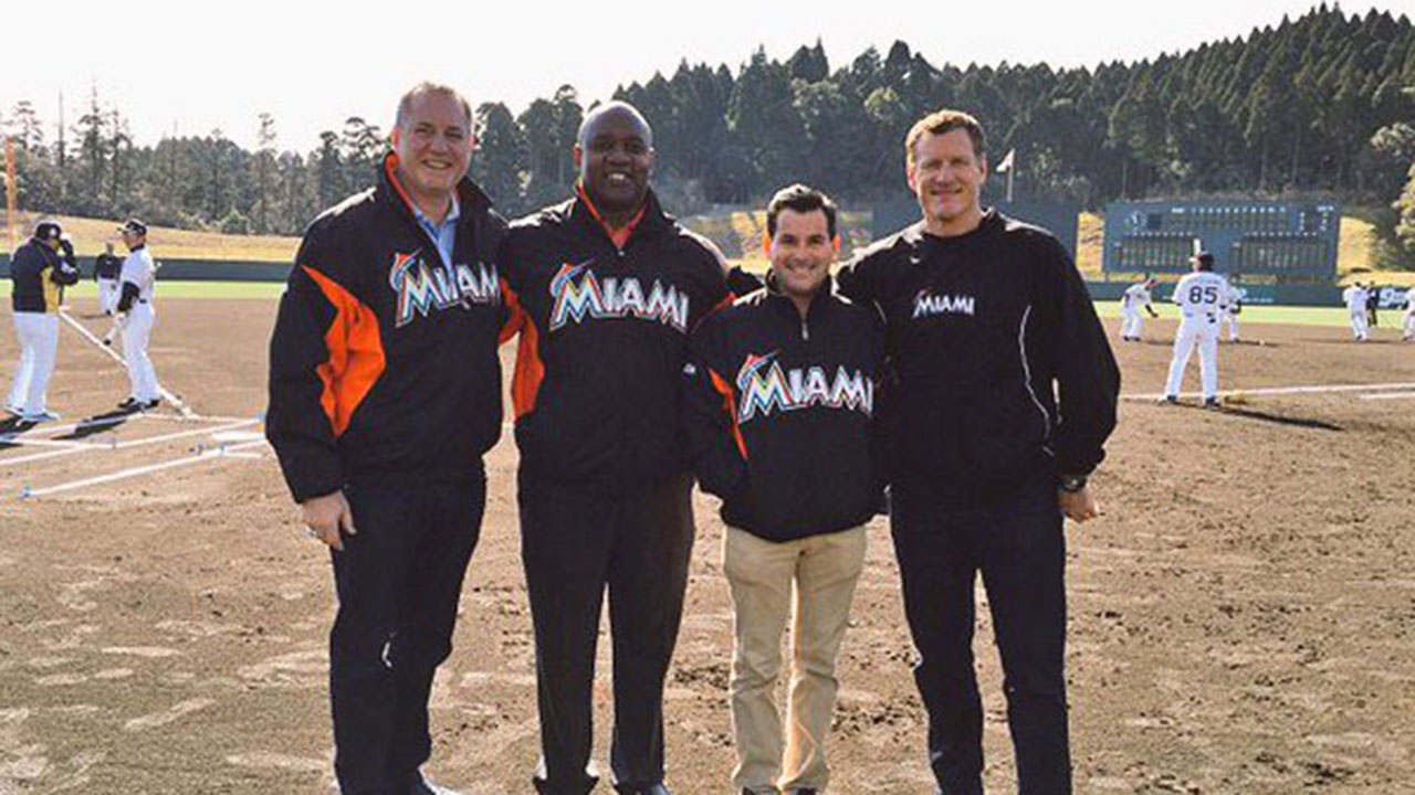 Marlins contingent in Japan on 'goodwill' visit