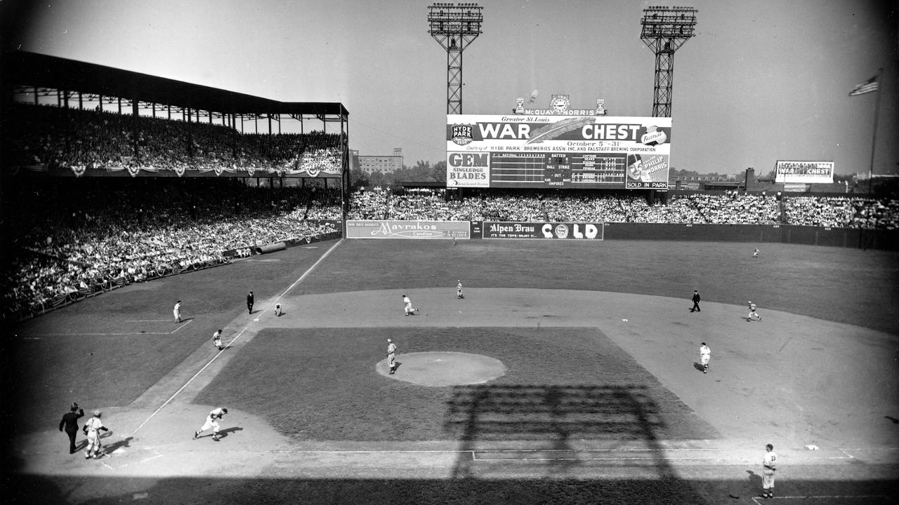 WWII travel restrictions scrubbed 1945 All-Star Game