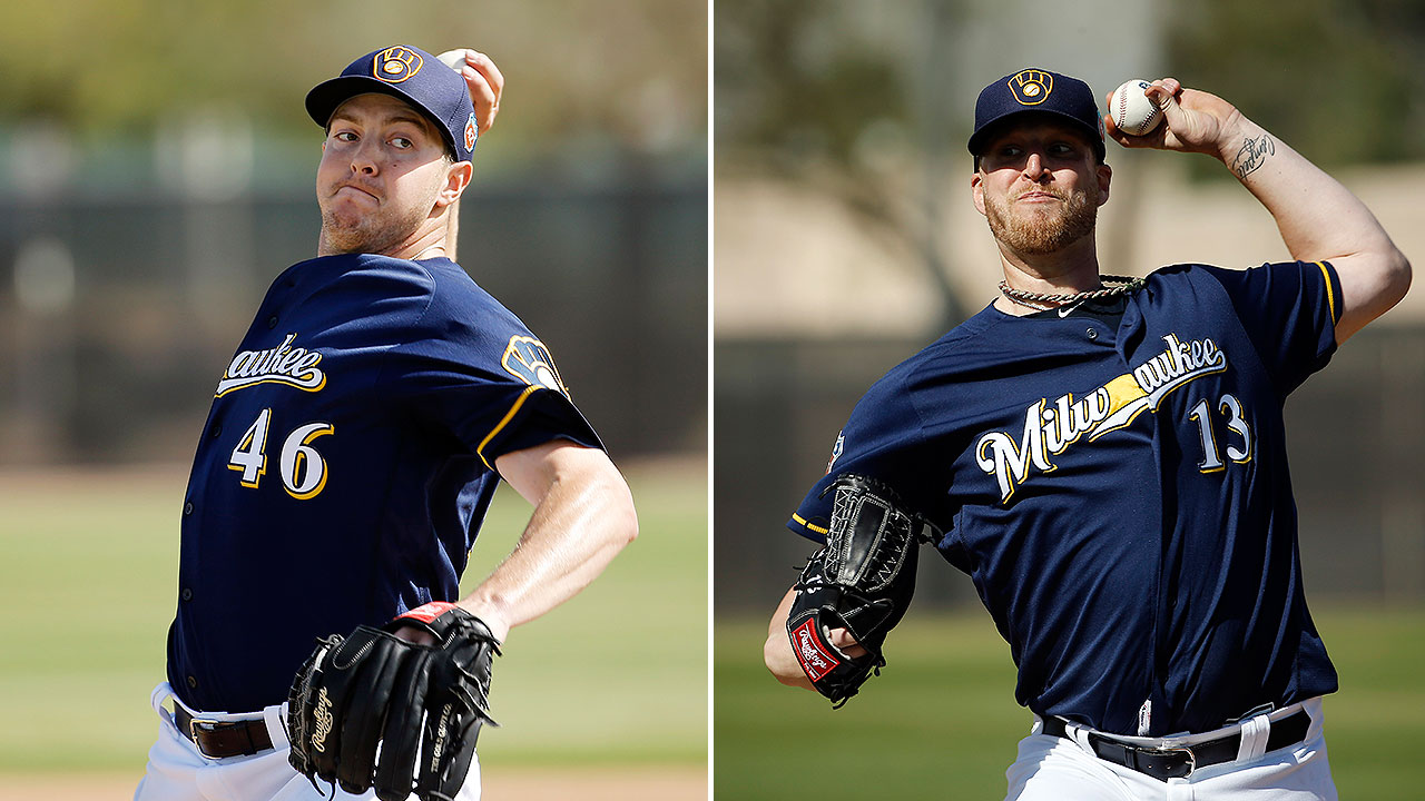 Crew relievers Knebel, Smith progressing