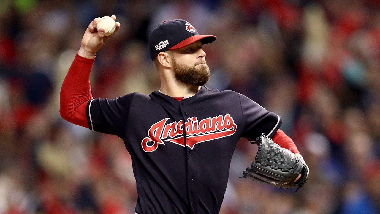 Tribe to open WS with Kluber; Bauer, Tomlin to follow