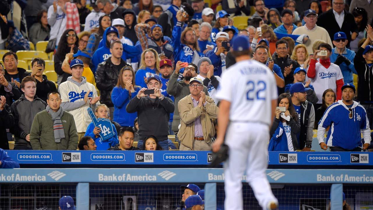 Los Angeles Dodgers' Clayton Kershaw says milestone 100th win is 'kind of cool' | MLB.com