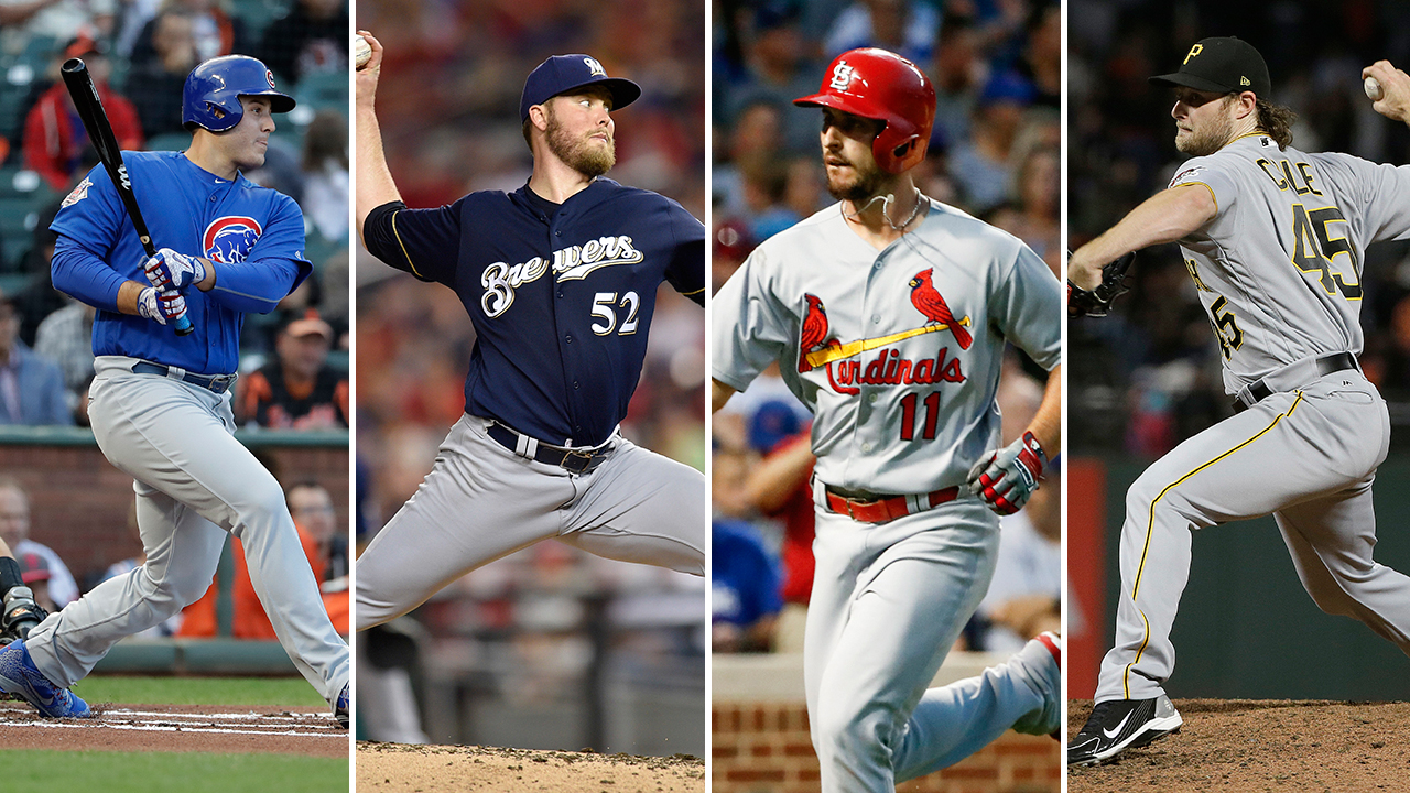 NL Central heating up into 4-team race