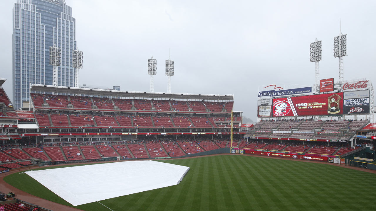 Cubs' tilt with Reds gets rained out