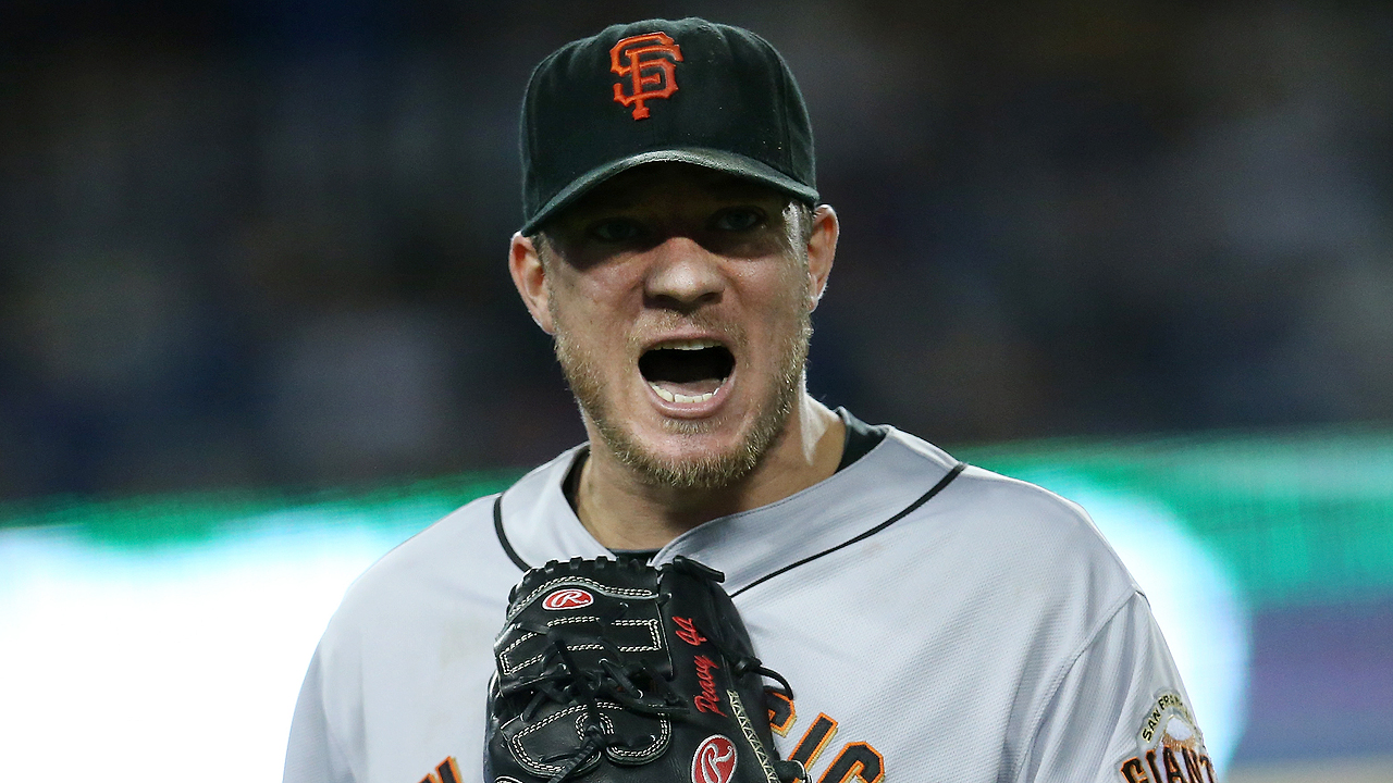 Giants Manager Bruce Bochy Entrusts Jake Peavy With Game 1 Start In Nlds Mlb Com