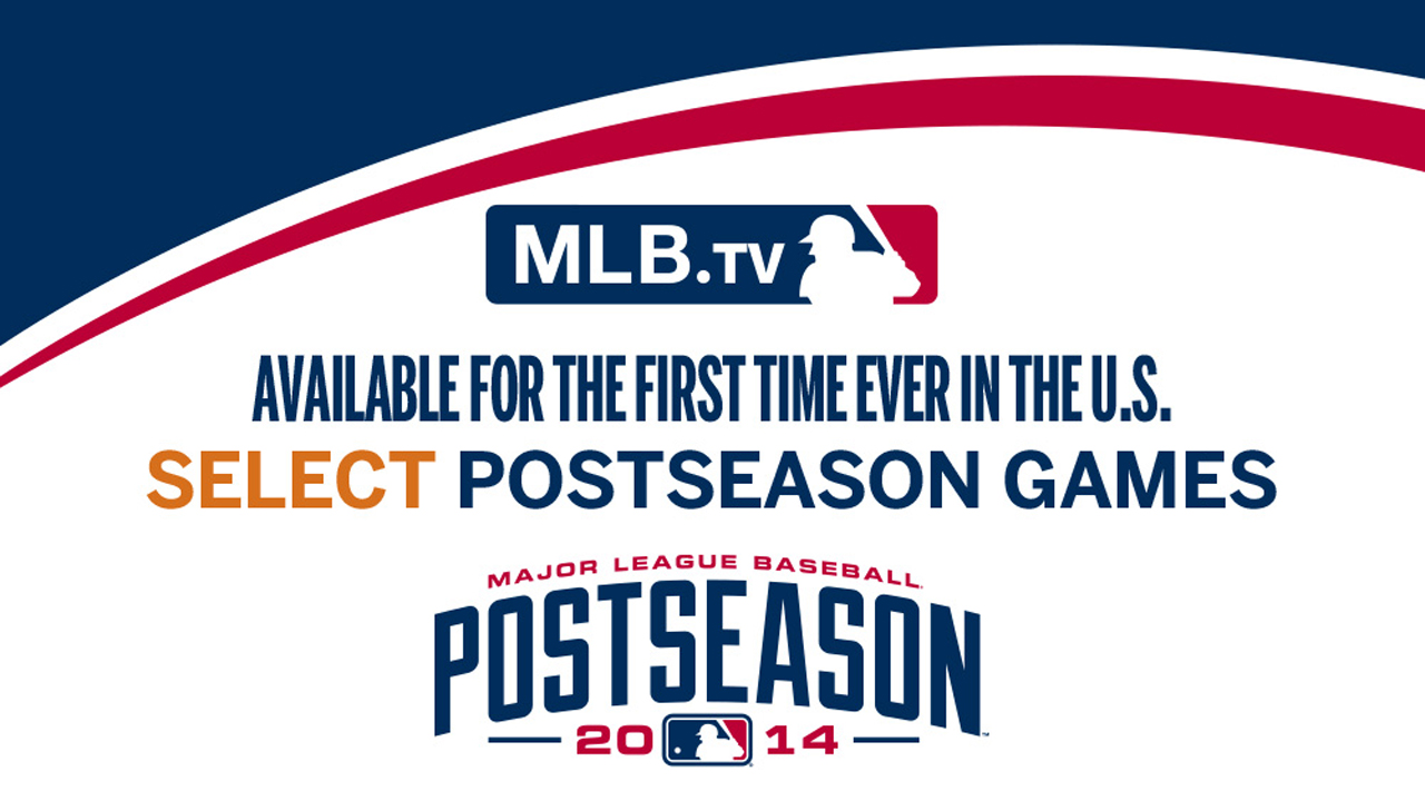 MLB.TV to stream World Series, select postseason games