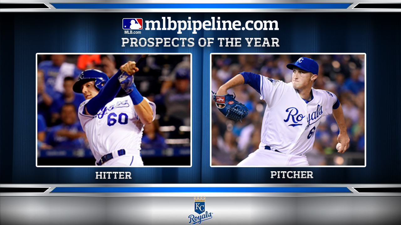 royals prospects of the year dozier strahm mlb com