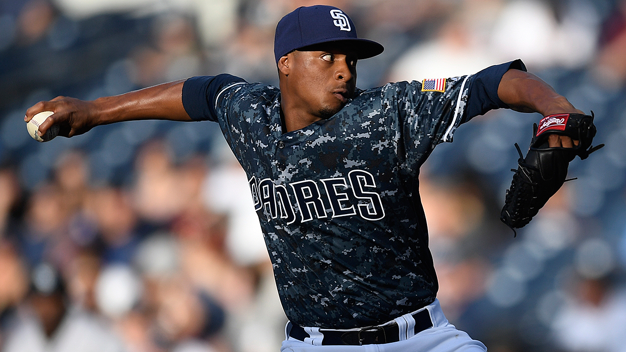 Ample candidates, questions for Padres' 2017 rotation