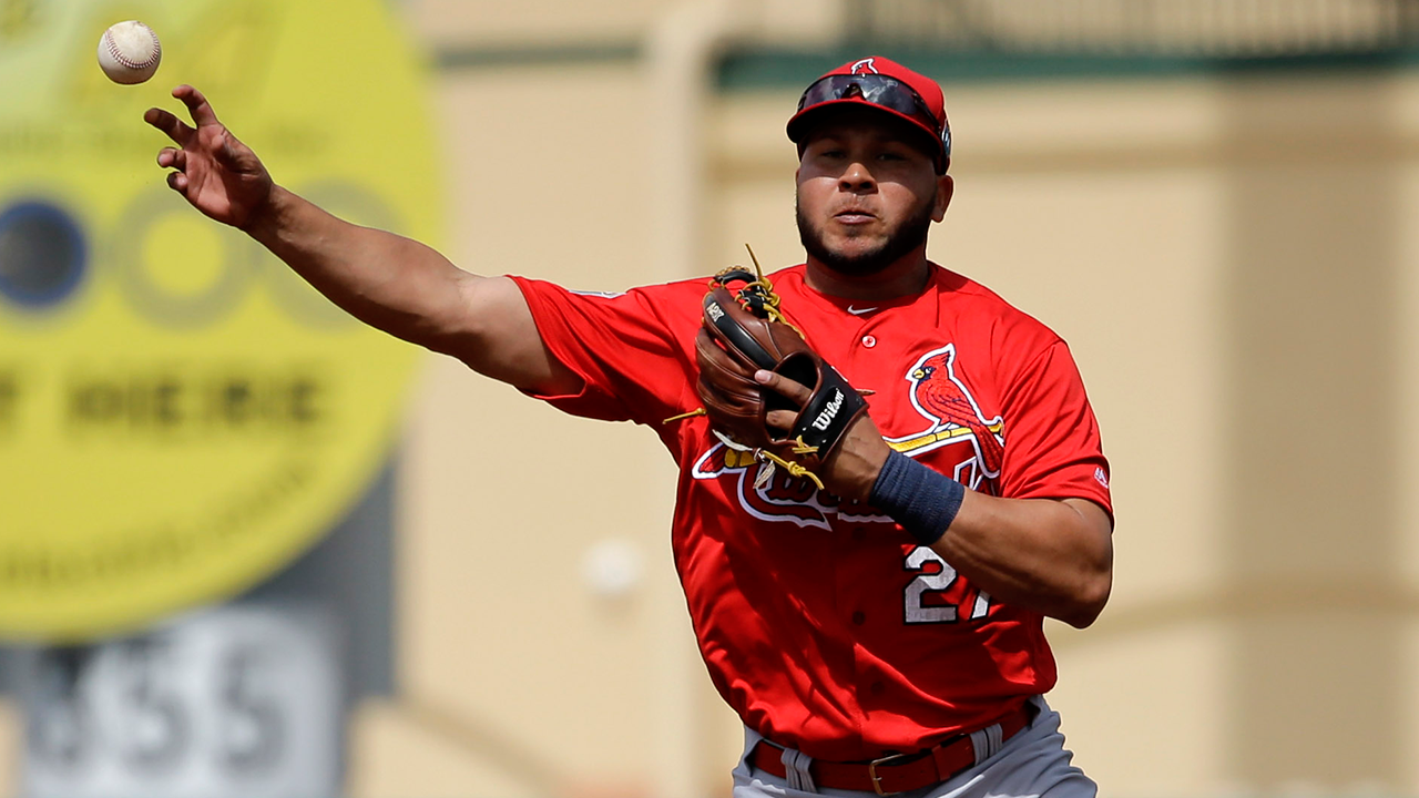 Peralta progresses with light defensive drills