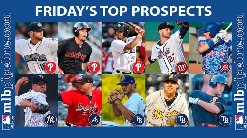 Lively among top prospect performers Friday