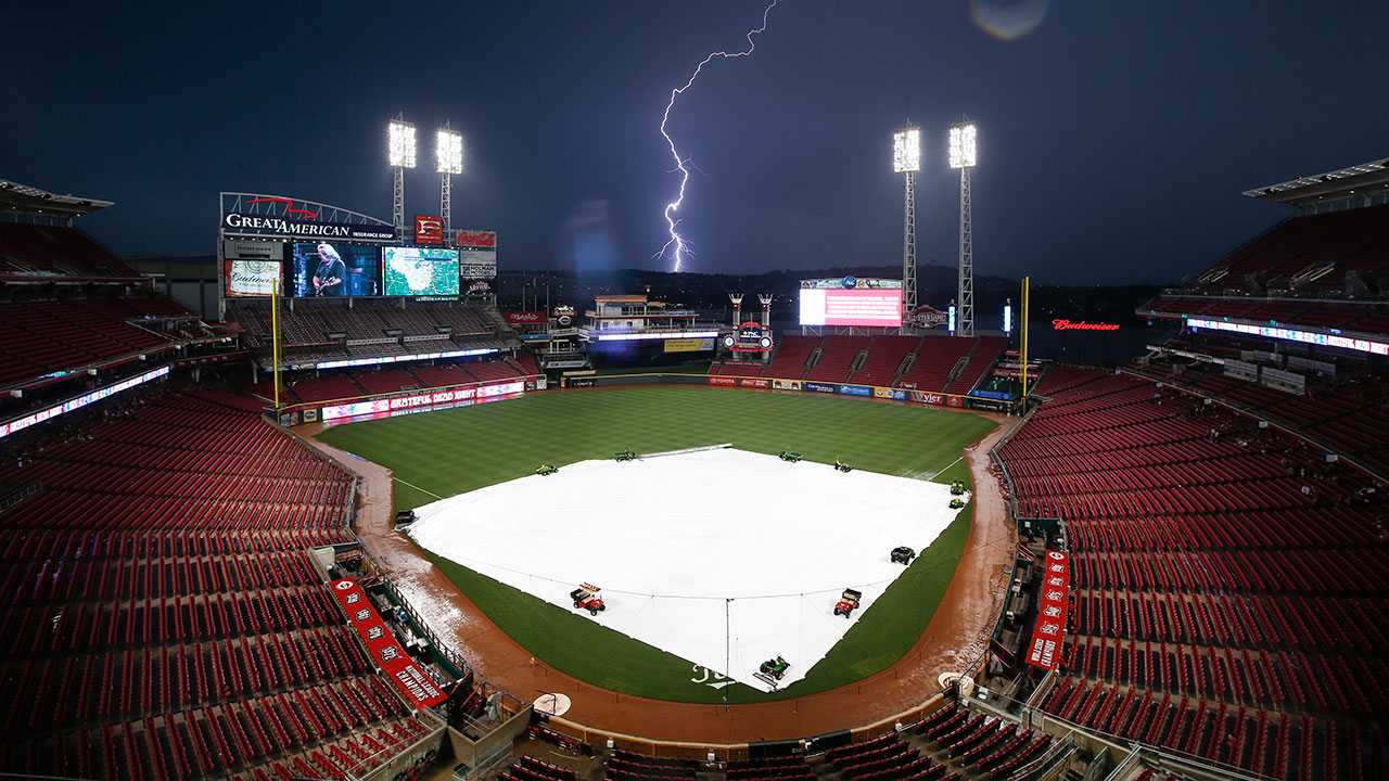 Brewers-Reds postponed by rain