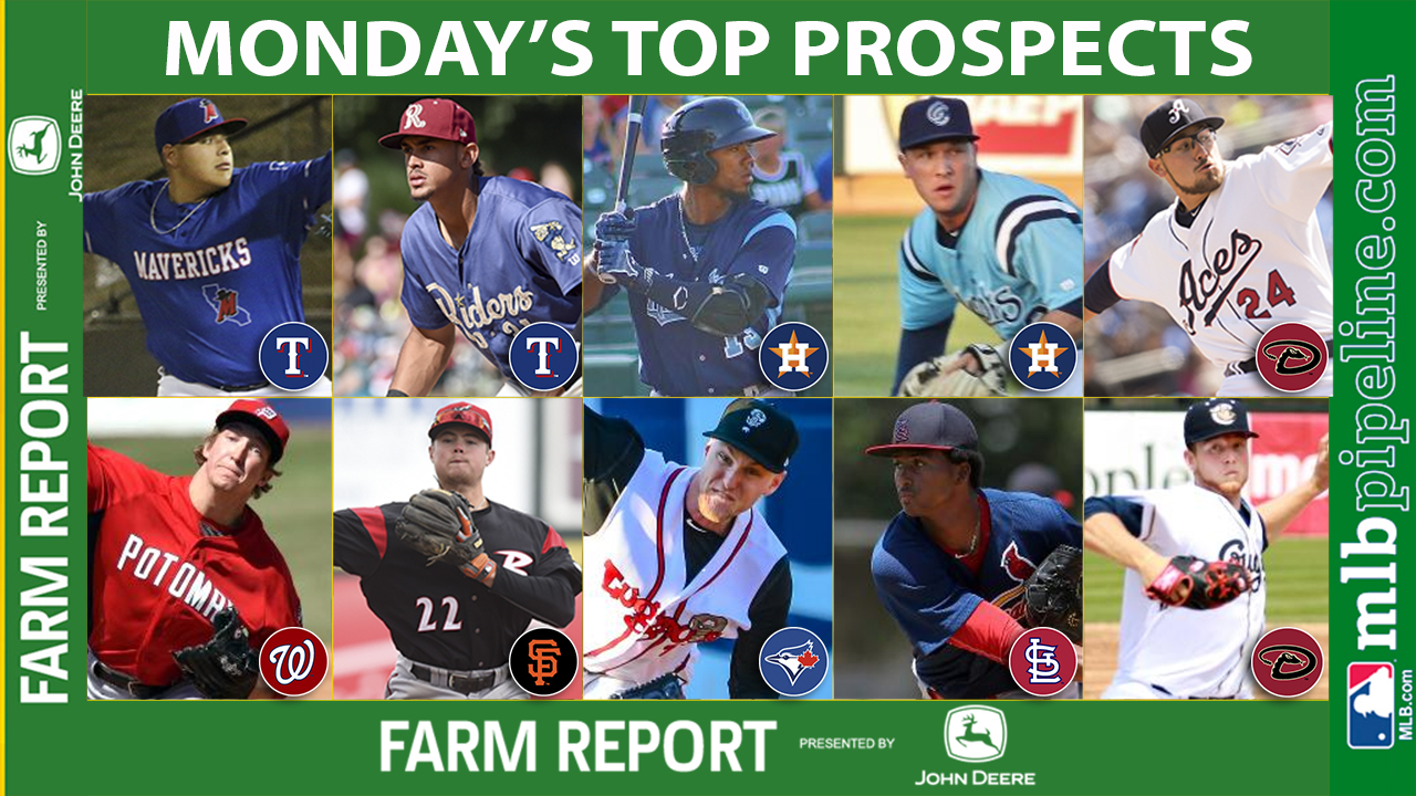 Ortiz, Naylor among top prospect performers Monday