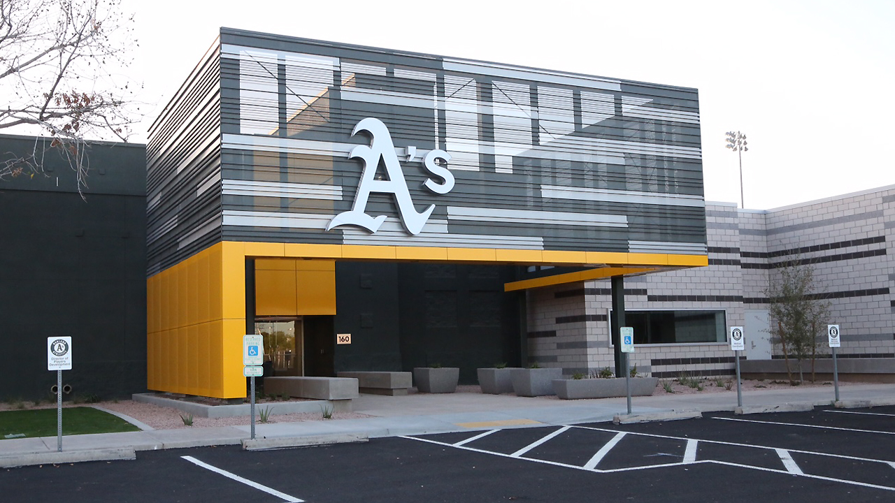 A's ready to open Lew Wolff Training Complex