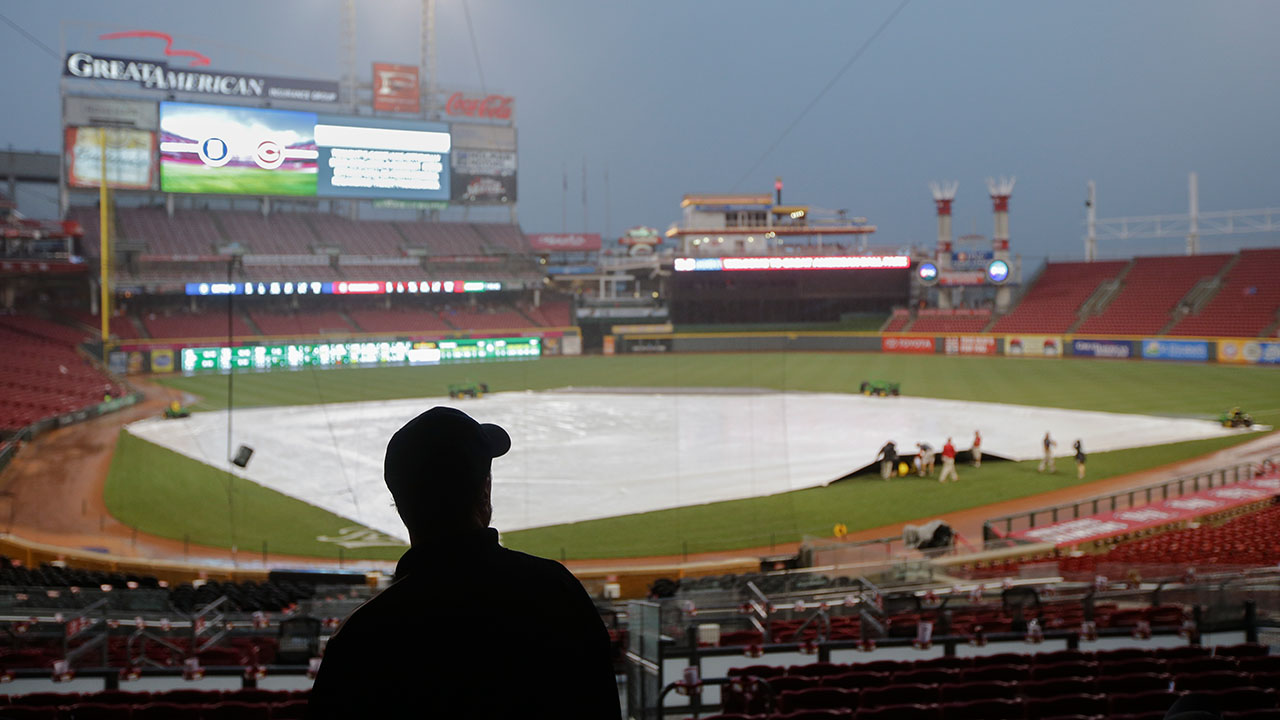 Thursday's Reds-Tigers game postponed by rain