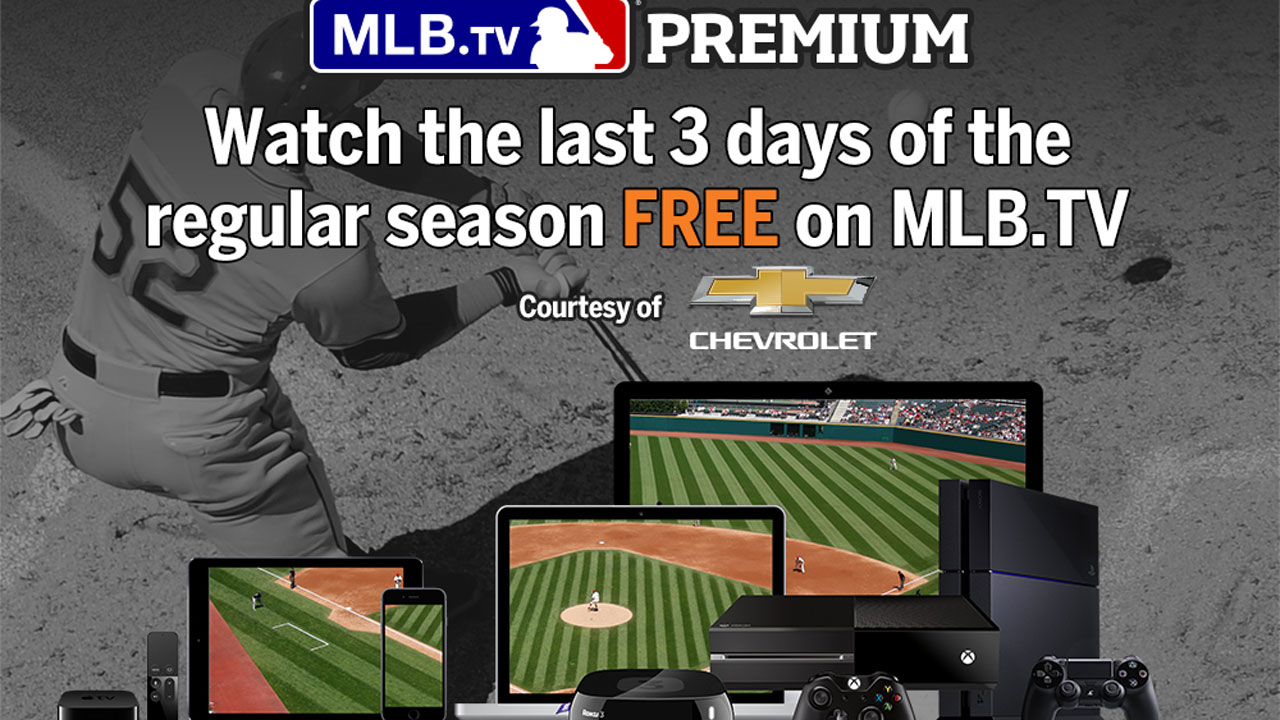 As races hit peak, MLB.TV has every pitch free