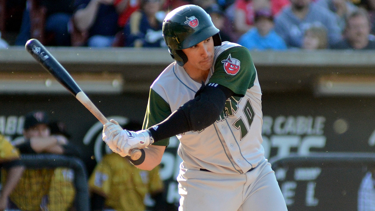 LF Torres hits two doubles to claim Midwest League lead