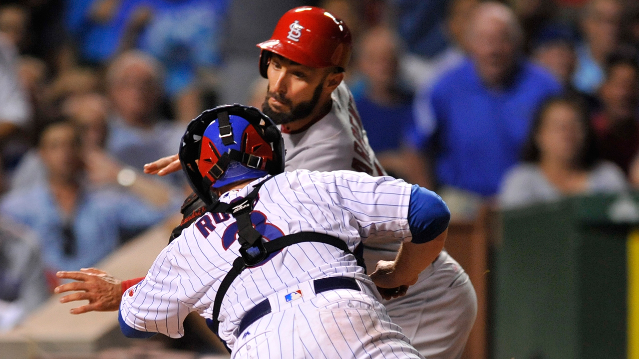 Cards' missed chances precede tough call vs. Cubs