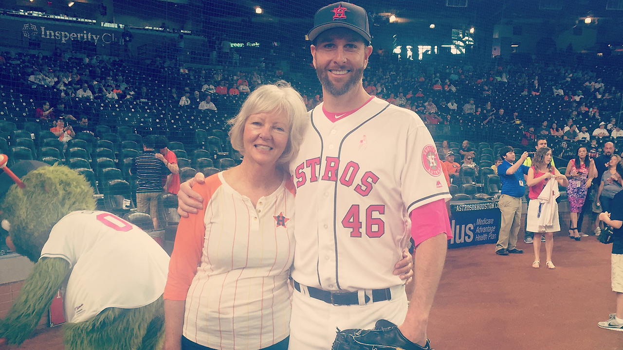 Feldman excited to be home for Mother's Day