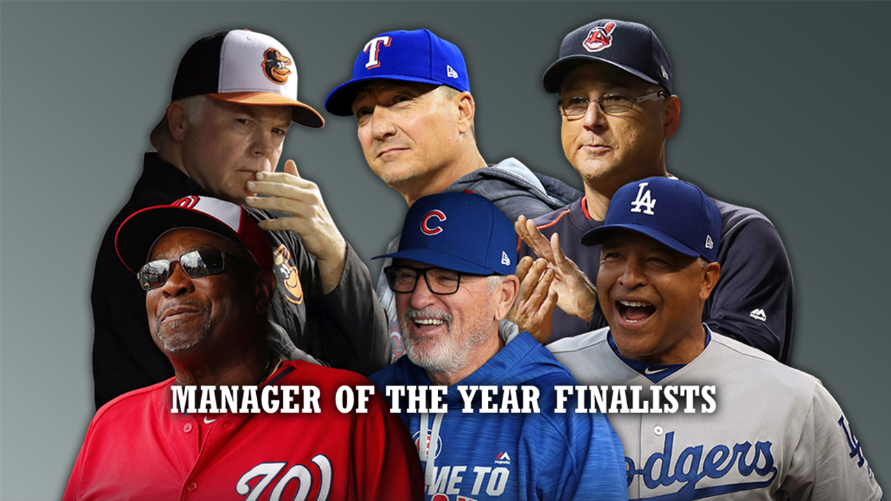 Francona, Roberts are Managers of the Year