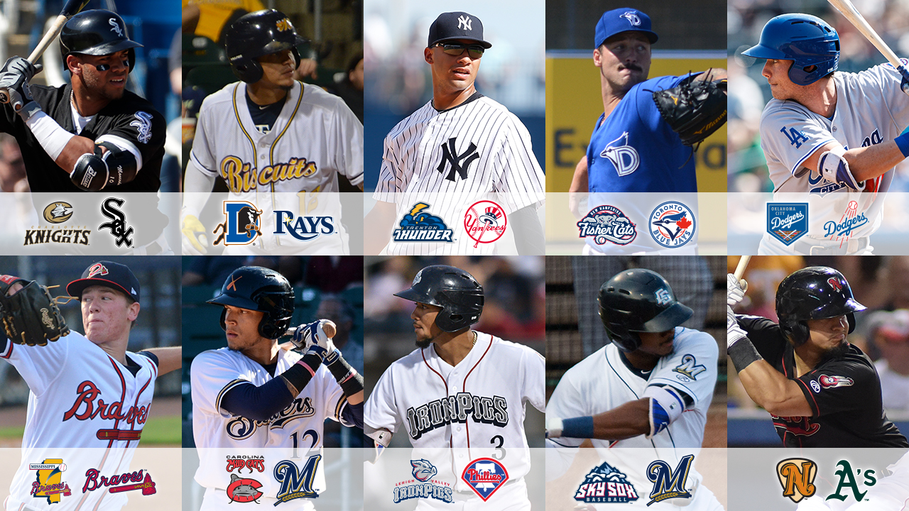 Minor Leagues' top 10 most stacked rosters | MLB.com