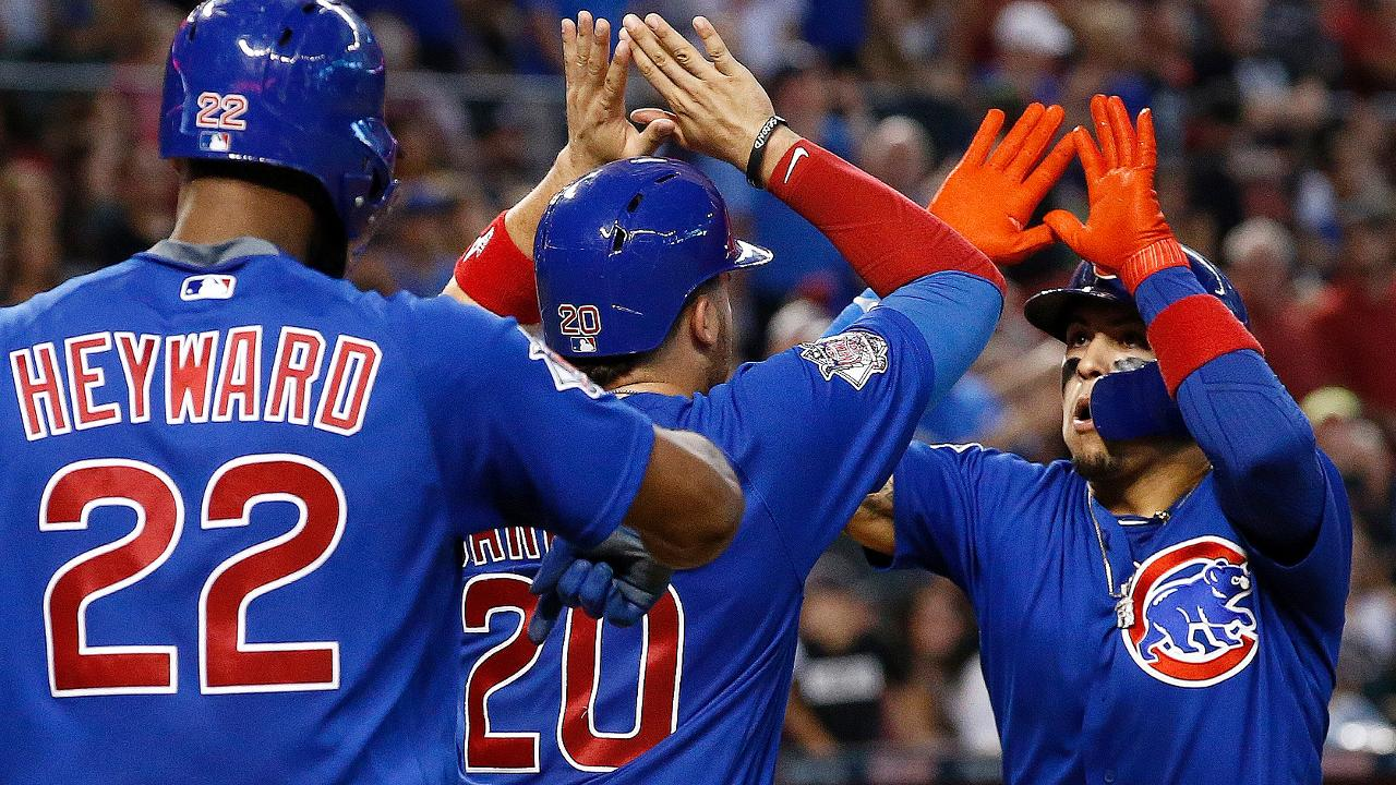 Cubs sit atop division with win over D-backs