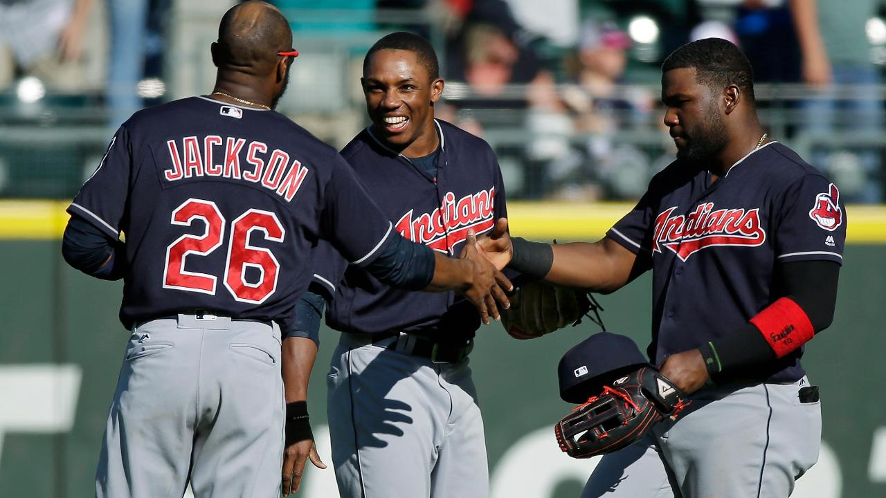 Indians clinch ALDS home-field