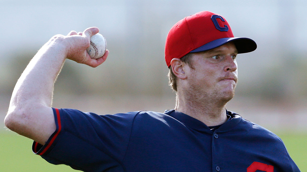 Indians hopeful Floyd can return to Majors in 2015