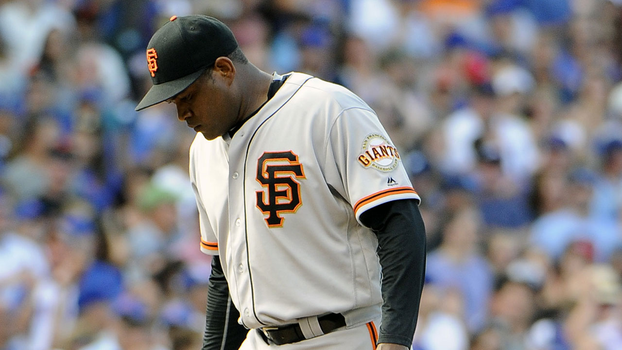 Giants need to move past tough Cubs series