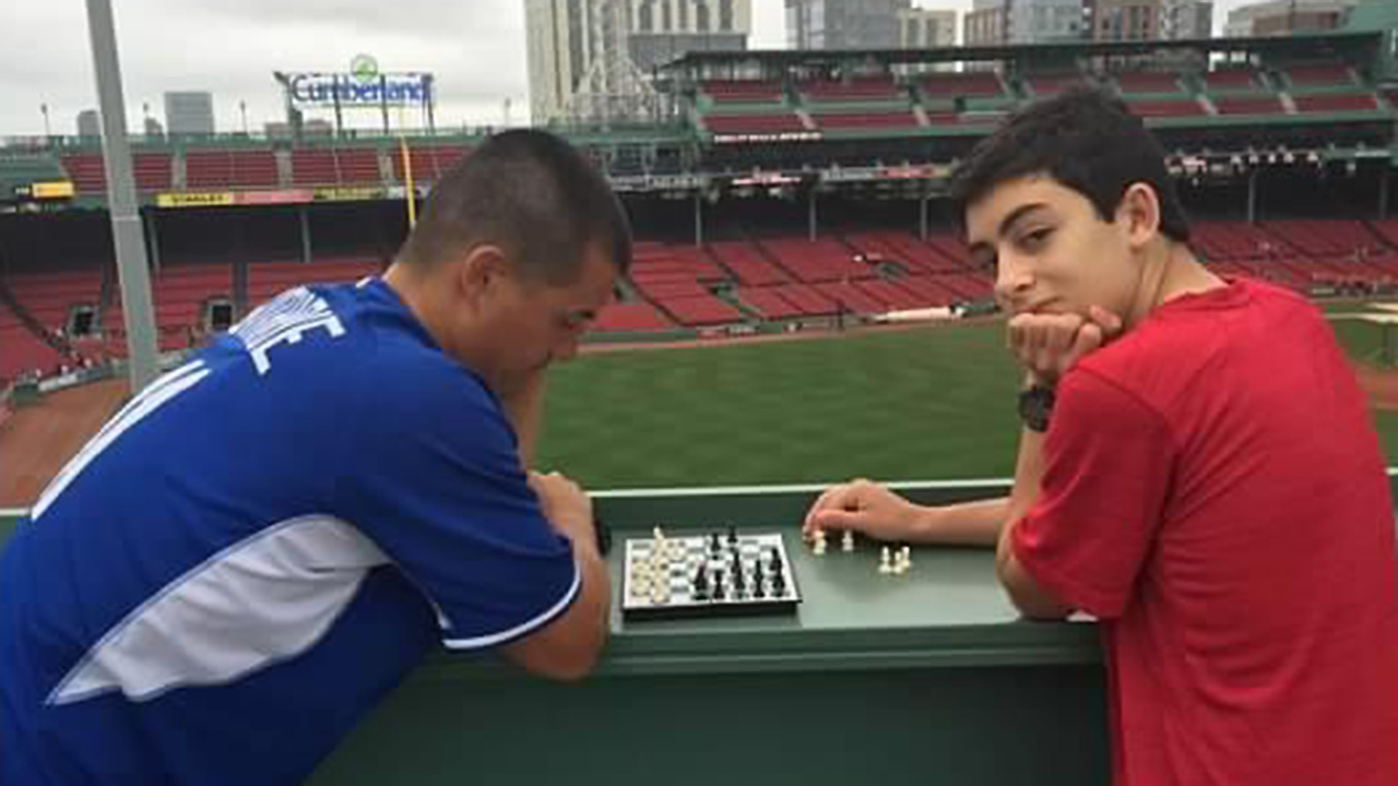 Guthrie a pawn to Canadian boy, his chess mate