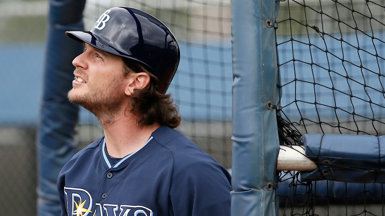 Jaso steps out from behind the dish for Rays