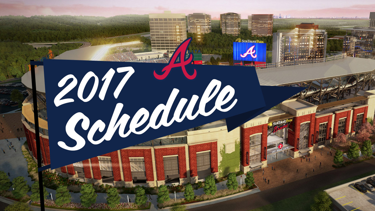 Braves To Host SD In SunTrust Park Opener