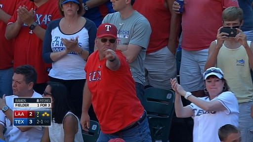 Rangers fan celebrates run