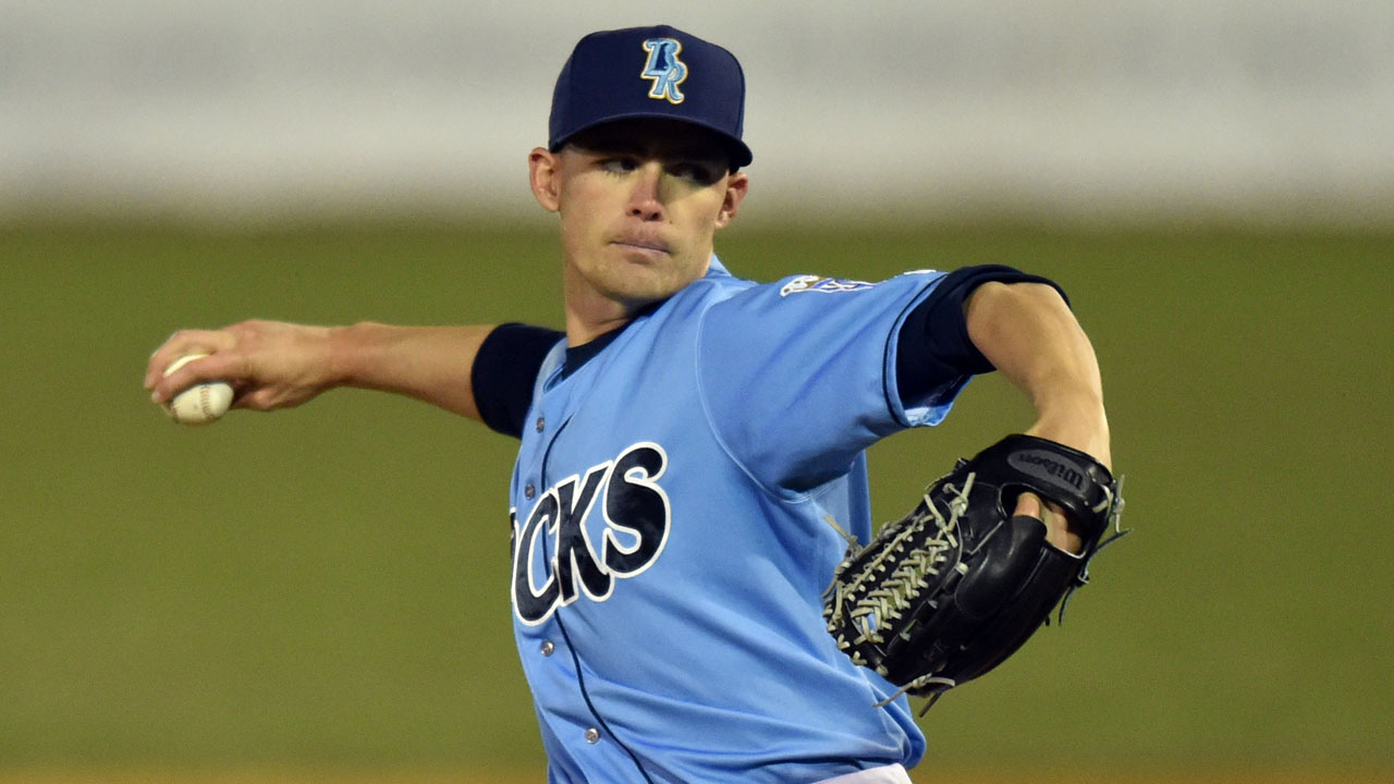 Royals prospect Staumont is flame thrower