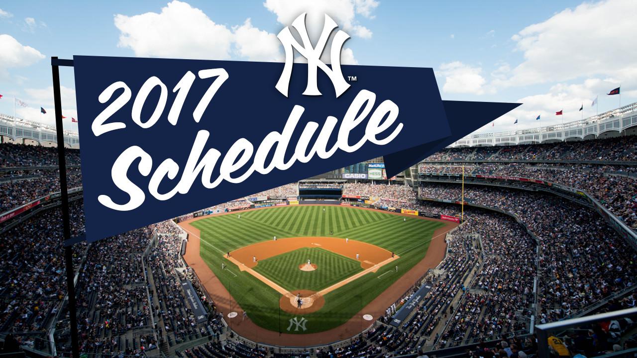 Yankees Calendar 2017 My Blog