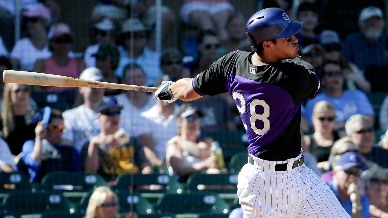Arenado erupts with homer, double against Cubs
