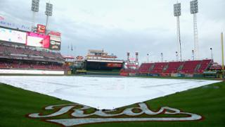 Pirates-Reds doubleheader delayed by rain