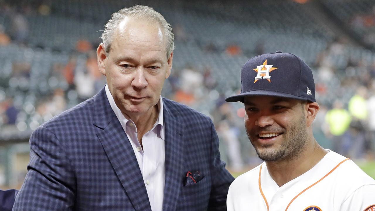 Astros receive Selig Award for philanthropy