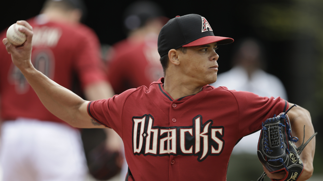 Lopez, D-backs scuffle against Brewers