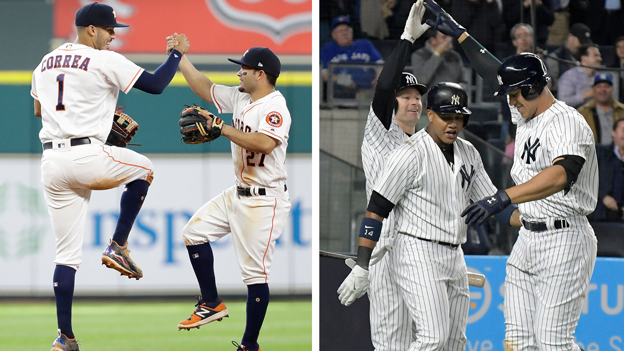 Astros' visit to Bronx a big deal, even in May