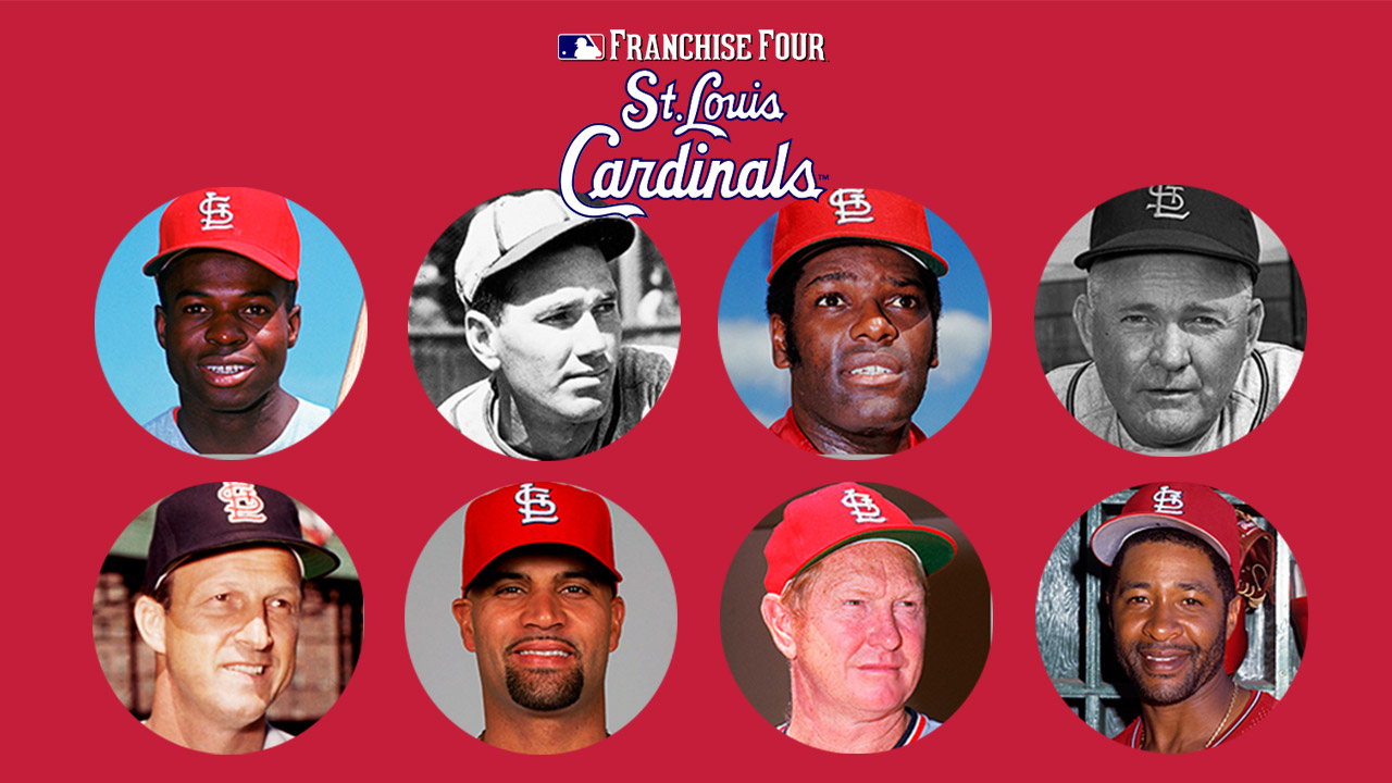 Cardinals Hall of Famers lead Franchise Four balloting