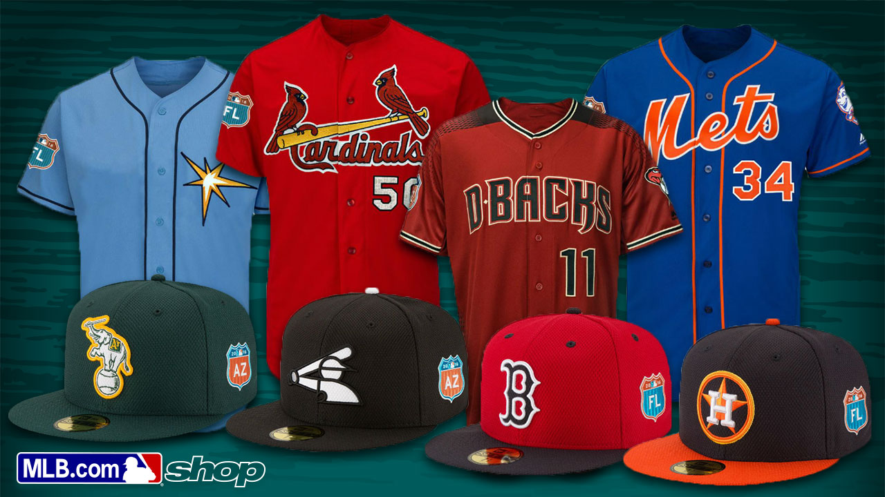 New, cooler spring jerseys, caps available