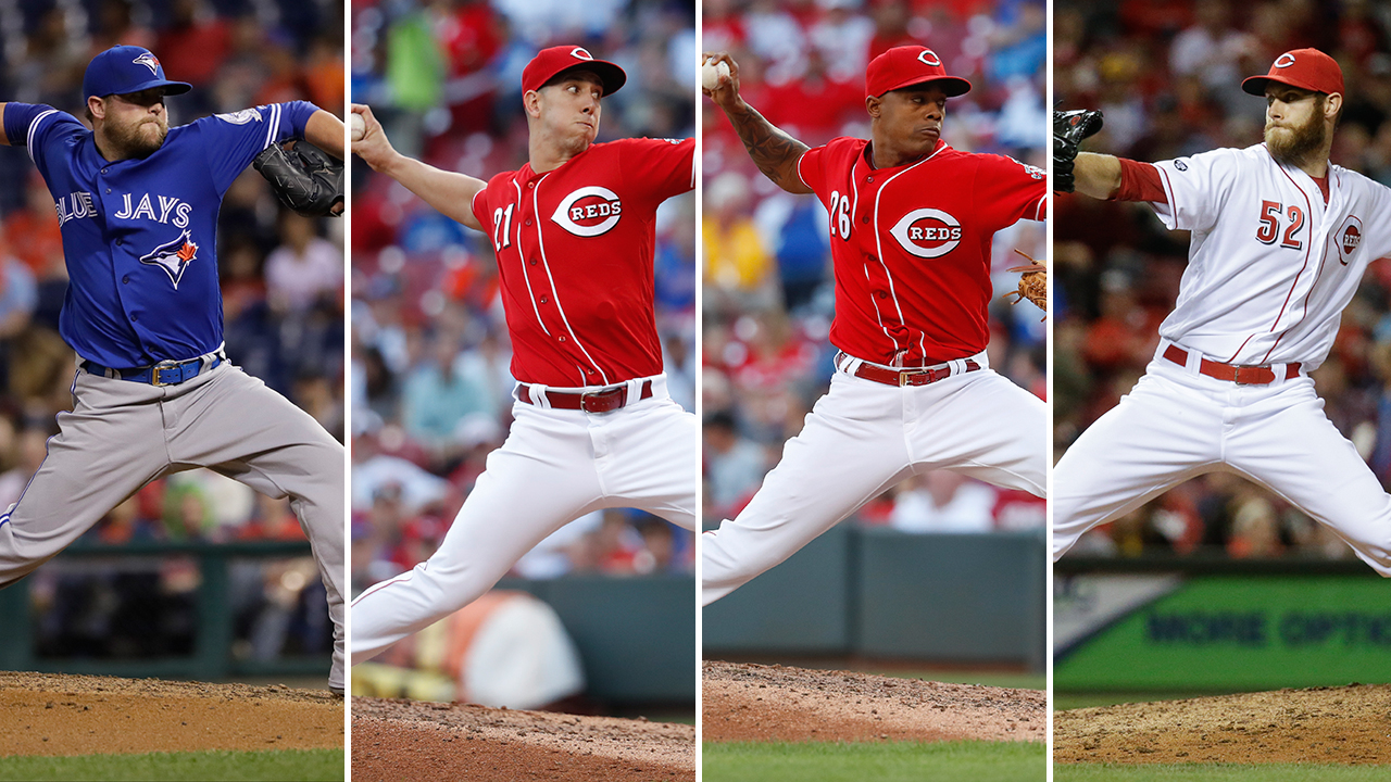 Reds to go with four-man rotation at closer