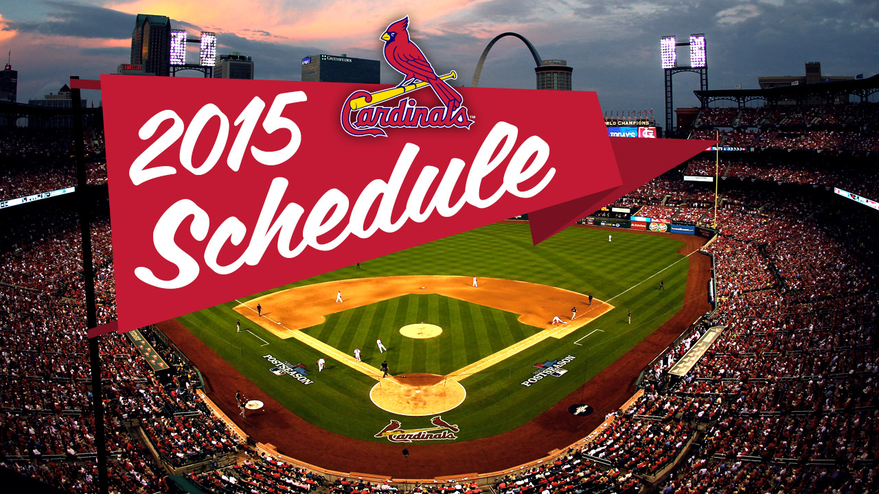 Cardinals to visit Cubs in 2015's Opening Night