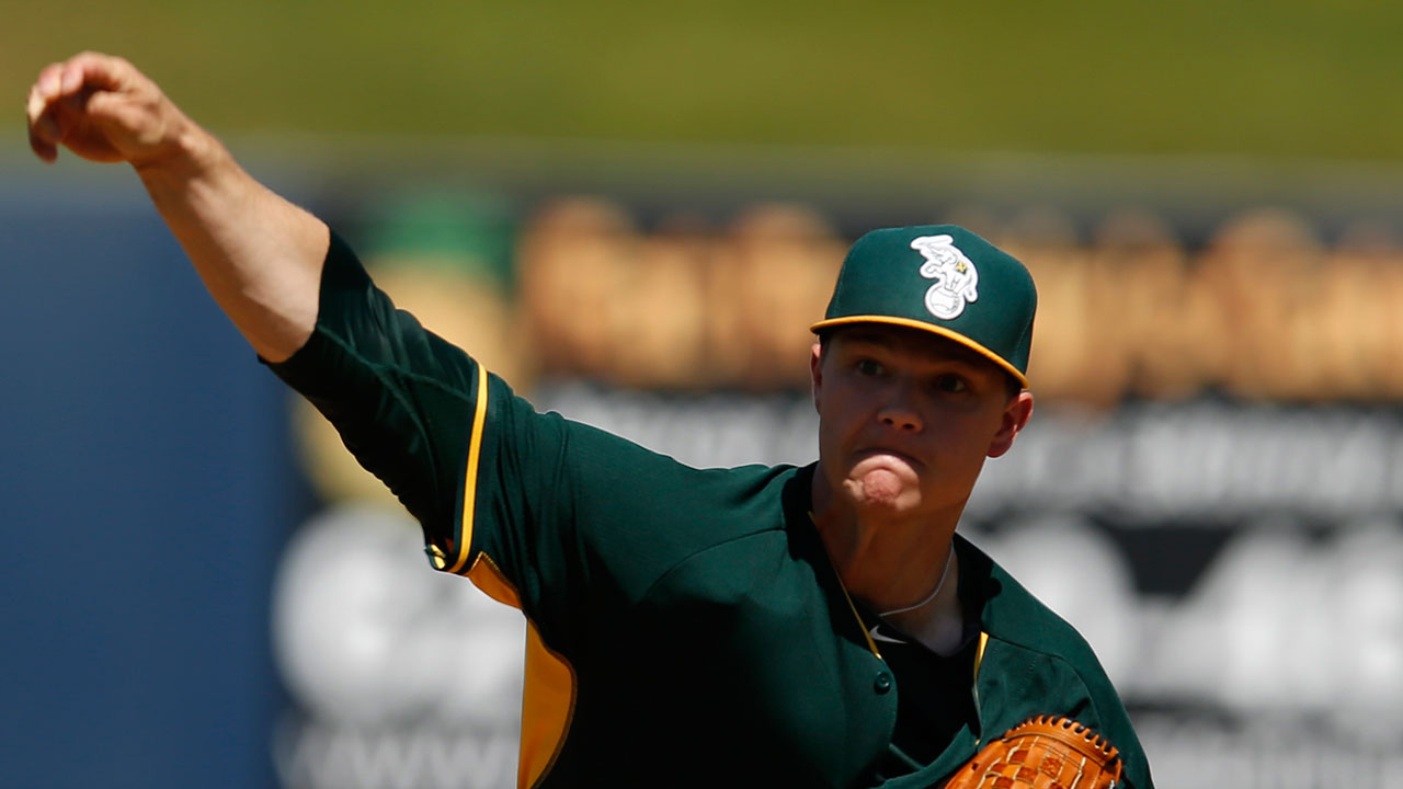 A's not concerned about down start by Gray